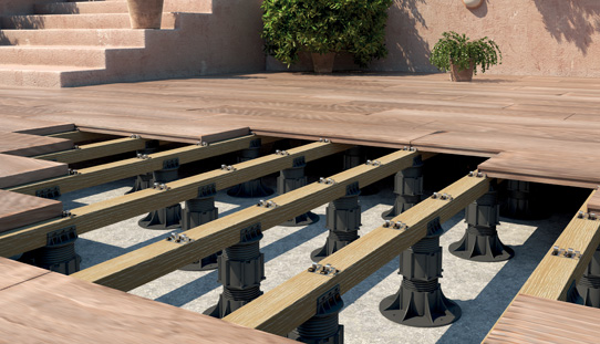 Pedestal Paver Systems Eterno Roof Deck Supports